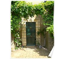 Doorway, The Menagerie, Horton, Northamptonshire Poster