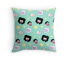 The Classroom Gems! // Steven Universe Crystal Gems Chibi Throw Pillow
