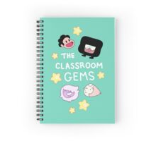 The Classroom Gems! // Steven Universe Crystal Gems Chibi Spiral Notebook