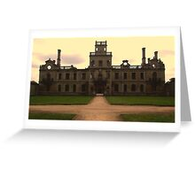 Kirby Hall, Northamptonshire Greeting Card