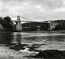 Menai Bridge, Anglesey, North Wales by Richard Flint