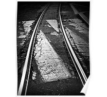 Tramway tracks Poster