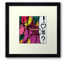 You've Got Spam! Framed Print