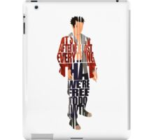 Tyler Durden iPad Case/Skin