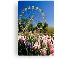 Floriade Fun Canvas Print