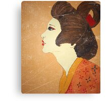 Geisha.Edo Period Canvas Print