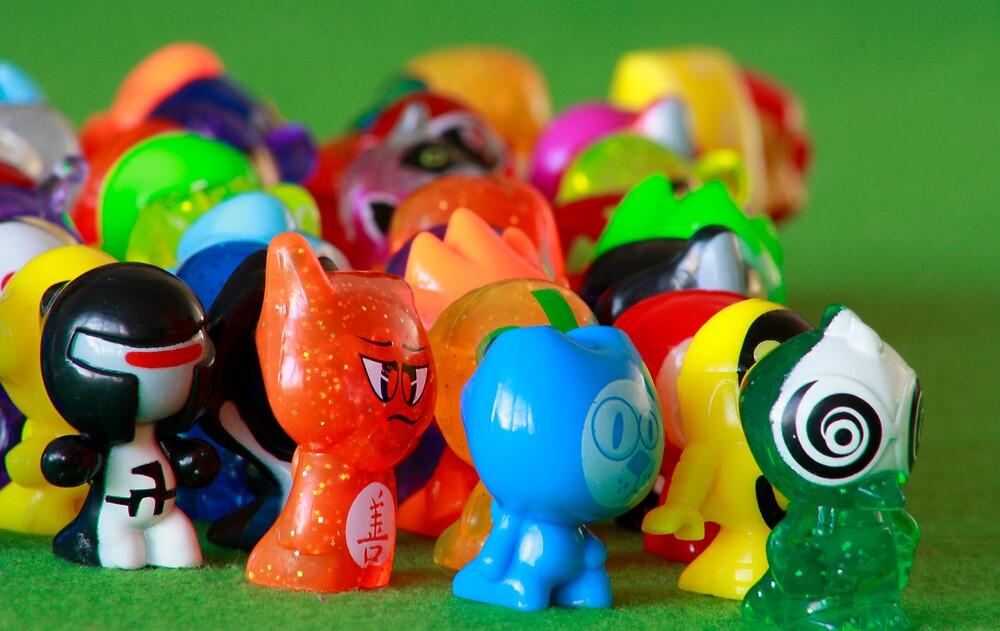 GoGo's army by Etwin