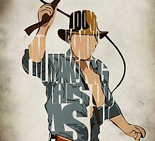 Indiana Jones by A. TW