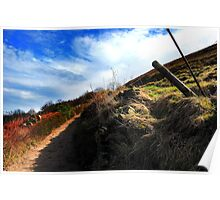 Track to Worrall - Nikon D40 Poster