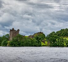 Urquhart Castle by Glaspark