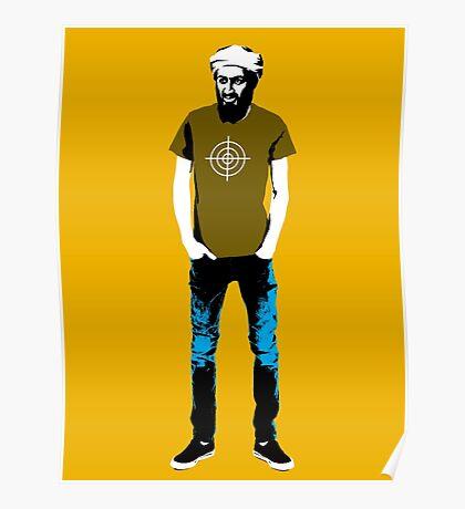 Hipster Bin Laden Poster