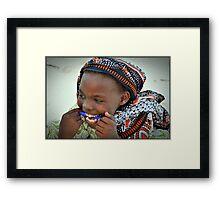 Mama Africa Framed Print