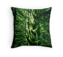 Looks like rain forest Throw Pillow
