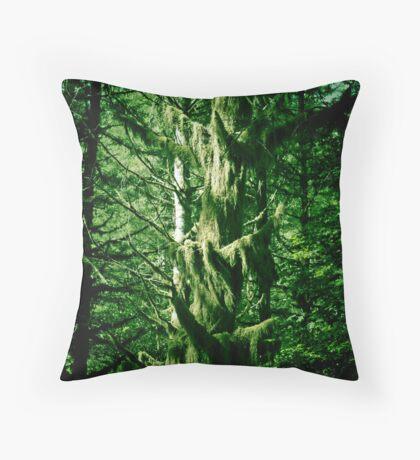 Looks like rain forest Throw Pillow