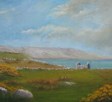 Ruined Cottage in Connemara. by Geraldine M Leahy