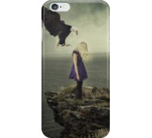 Fly away with me - freedom, sadness and melancholy iPhone Case/Skin