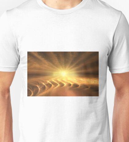 Golden beach Unisex T-Shirt