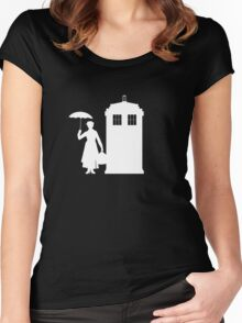 MARY WHOVIANS Women's Fitted Scoop T-Shirt
