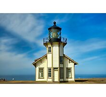 Point Cabrillo Lighthouse Photographic Print