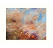 Brush Strokes no.1 Art Print
