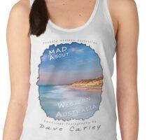 Dave Catley Landscape Photographer - Fine Art T-Shirt (Quinns Rocks) Women's Tank Top