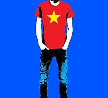 Hipster Mao by monsterplanet