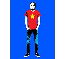 Hipster Mao Photographic Print