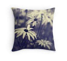 Garden Bokeh Throw Pillow