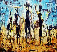 tribal dance by agnès trachet