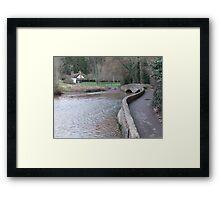The Packhorse Bridge, Dunster Framed Print