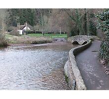 The Packhorse Bridge, Dunster Photographic Print
