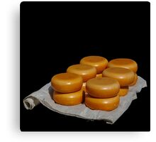 Cheese from Gouda Canvas Print