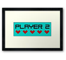 Player 2 Framed Print