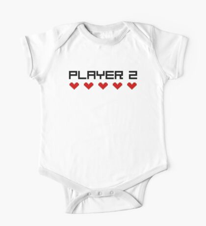 Player 2 One Piece - Short Sleeve