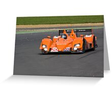 Team LNT Ginetta-Zytek Greeting Card