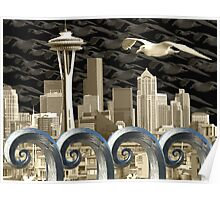 Seattlescape Poster