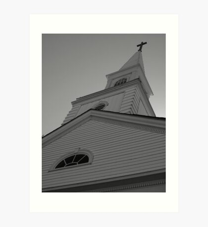 Church Steeple Art Print