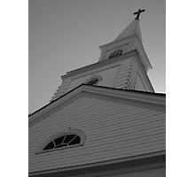 Church Steeple Photographic Print