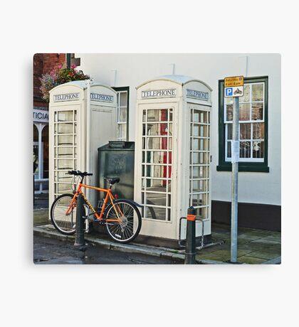 Telephone Twice Canvas Print
