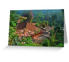 scenic house Greeting Card