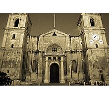 Cathederal Valletta Photographic Print