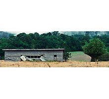 Abandoned building in the country Photographic Print