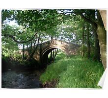 The Old Bridge 1, North Yorkshire  Poster