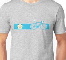 Bike Stripes Yorkshire Unisex T-Shirt