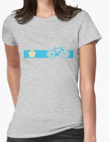Bike Stripes Yorkshire Womens Fitted T-Shirt