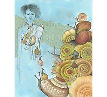 snails ascending Photographic Print