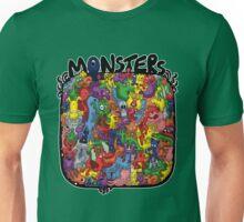 Monster Mash Up Unisex T-Shirt