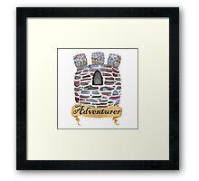 Adventurer's Tower Framed Print