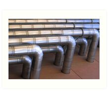 ducts for terry gilliam Art Print