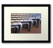 ducts for terry gilliam Framed Print